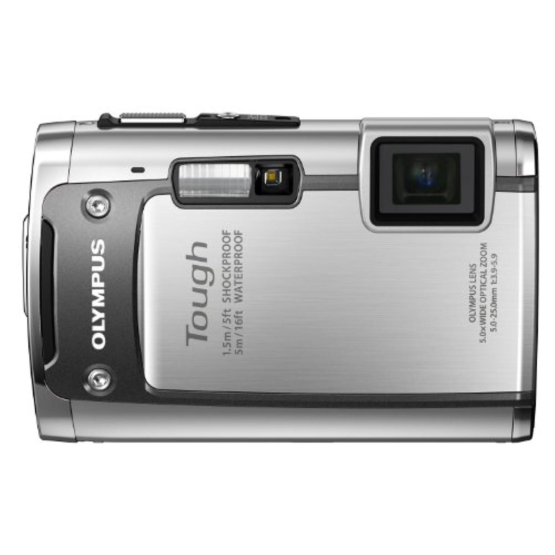 変更可能シェルタークレーターOLYMPUS 防水デジタルカメラ TOUGH TG-610 シルバー 5m防水 1.5m耐落下衝撃 -10℃耐低温 1400万画素 3Dフォト機能 Eye-Fiカード対応 TG-610 SLV
