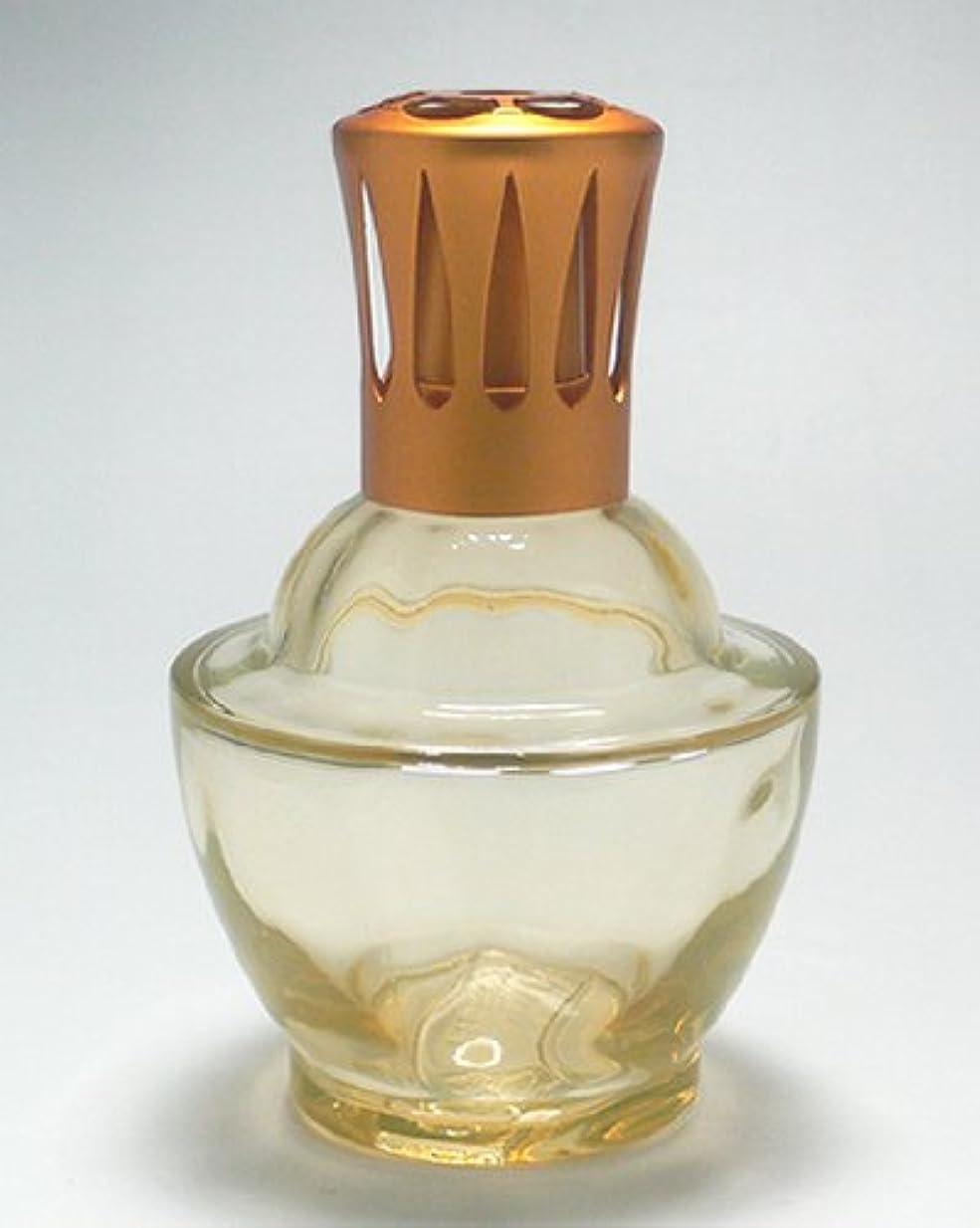 八コンソール廃止【ランプベルジェ】 ガラスランプ ファウンテン 3249 オレンジ