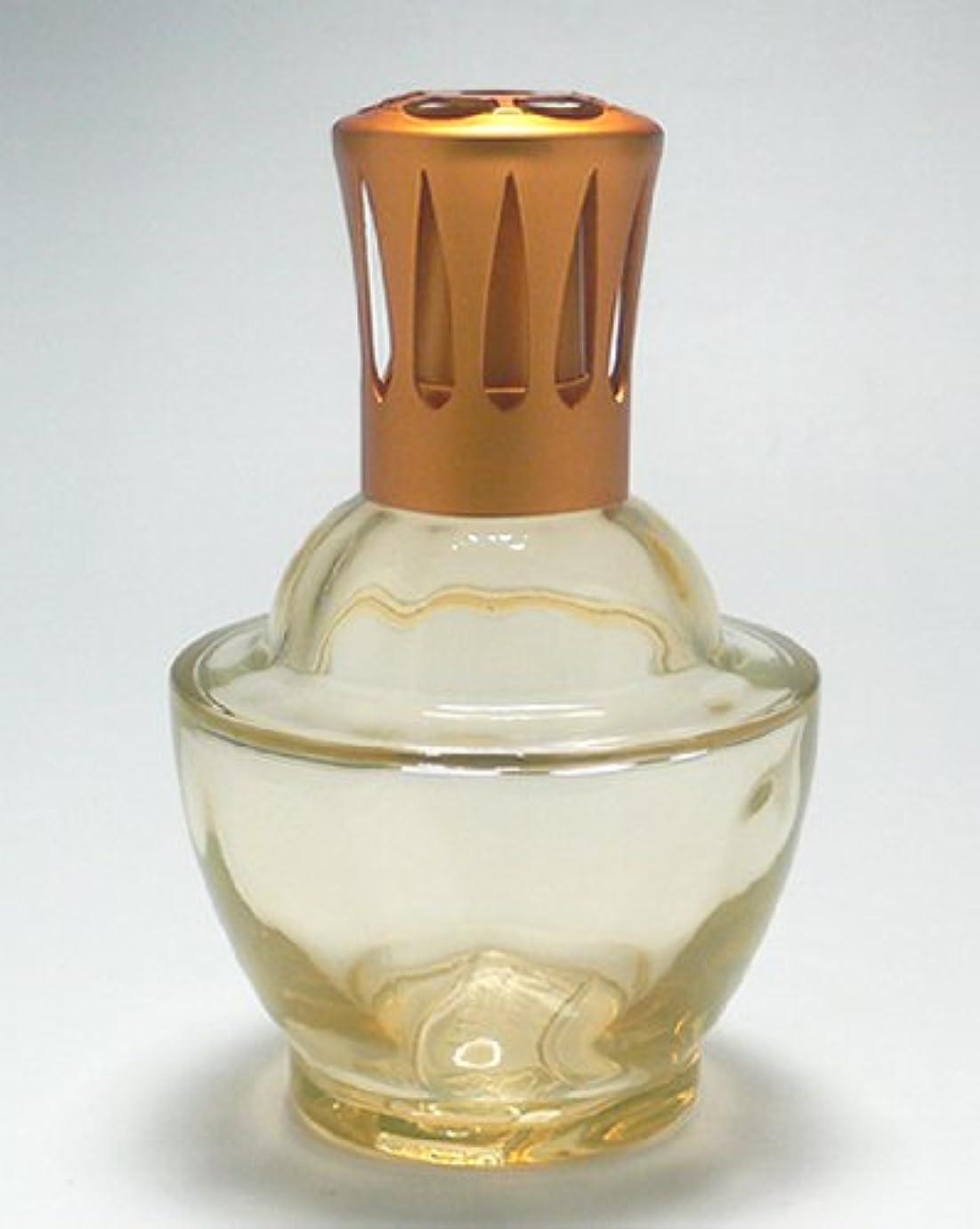 浜辺バーガー勧める【ランプベルジェ】 ガラスランプ ファウンテン 3249 オレンジ