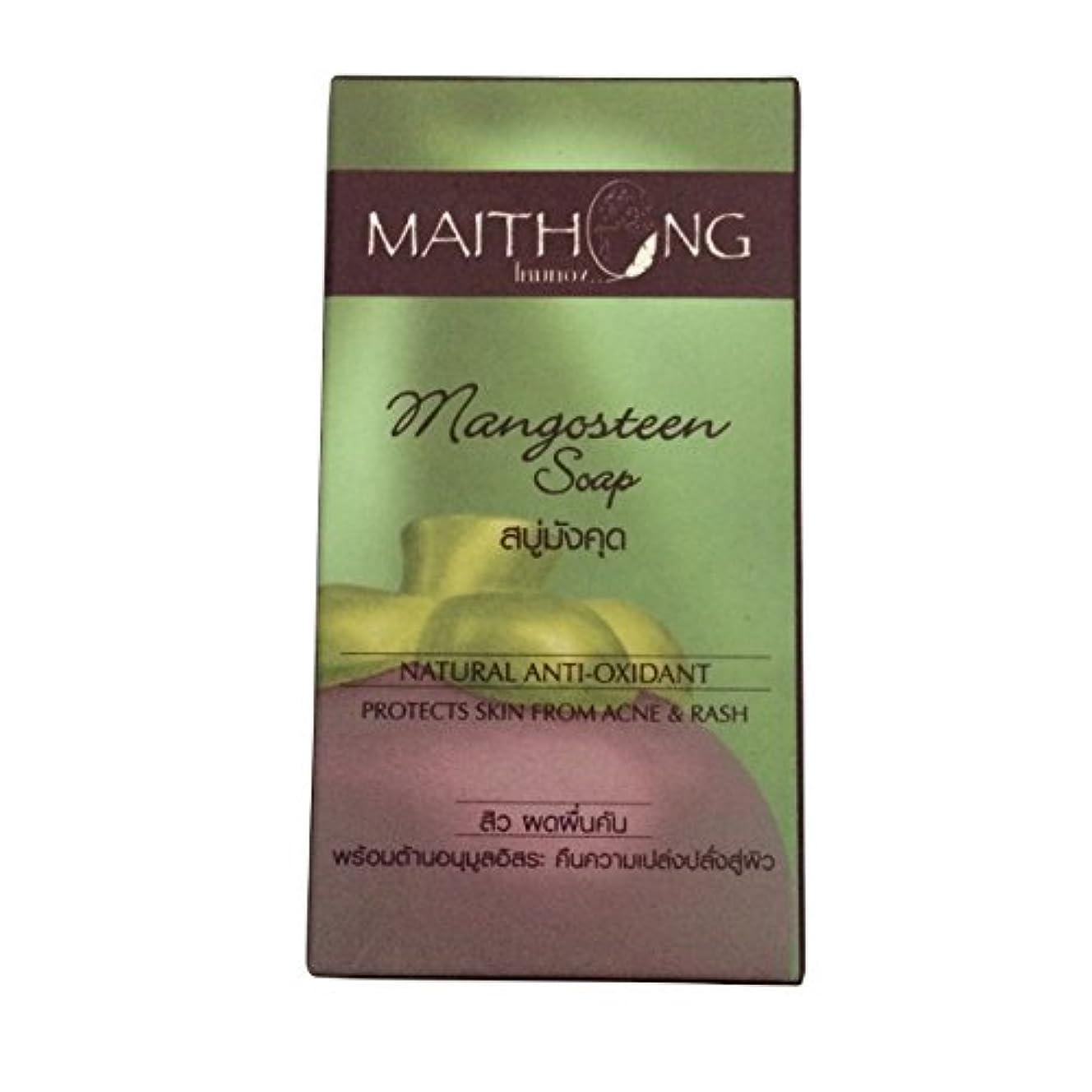 虫を数える変更安全性(マイトーン)MAITHONG マンゴスチン 石鹸 ソープ