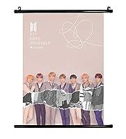 BTS 防弾少年団「LOVE YOURSELF 結 'Answer'」写真のスクロールポスター (H17)