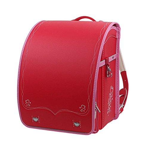 shoppaopao2017年モデルランドセル オシャレ 無地 かわいい 男の子 女の子 ランドセル 超軽量 型落ち 通学 新しい 入園式 ランドセルカバー付き 新品 型落ちバッグ A4クリアファイル対応schoolbag