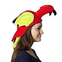 ハロウィン 帽子 コスプレ 仮装 ハット 七面鳥/鸚鵡 可愛い 被り物 キャップ コスチューム Halloween 舞台演出 パーティー 変装 道具小物 ヘッドアクセサリー 男女兼用 2色
