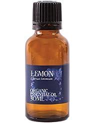 Mystic Moments | Lemon Organic Essential Oil - 30ml - 100% Pure