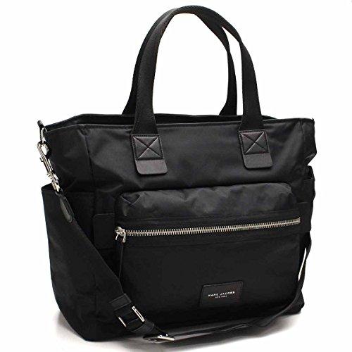 (マークバイマークジェイコブス)MARC BY MARC JACOBS マザーズバッグ マークジェイコブス NYLON BIKER BABY BAG ナイロンバイカー (ブラック) M0008297 001/BLACK [並行輸入品]