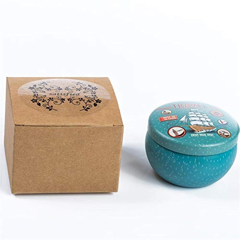 補う信条充実Guomao 漫画のブリキの箱の香料入りの蝋燭の家のなだめるような睡眠、新しく、快適な臭いがする蝋燭 (色 : Lavender)