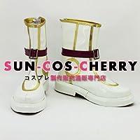 【サイズ選択可】コスプレ靴 ブーツ K-675 トキメキファンタジー ラテール latale イリス・リヴィエール 女性22.5CM