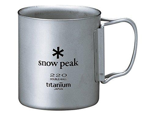 スノーピーク(snow peak) チタン ダブルマグ 220 [容量220...