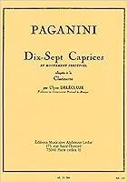 パガニーニ: 17のカプリスと無窮動 Op.11/ルデュック社/クラリネット教本・練習曲