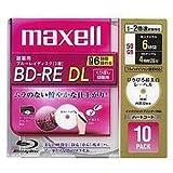 日立マクセル 録画用ブルーレイディスク BD-RE DL 260分 (1~2倍速対応) 「ひろびろ超美白レーベ BE50VFWPA.10S