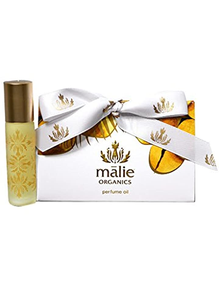 malie organics パフュームオイル ロールオン 香水 オーガニック 10ml ココナッツバニラ [並行輸入品]