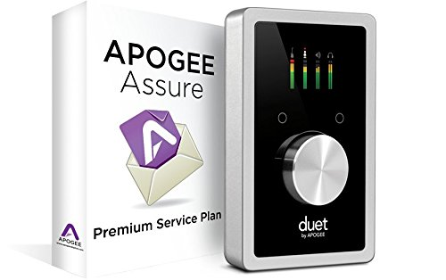 Apogee Duet USB Audio Interface for iPad & Mac with 3 Year Apogee Assure Premium Service Plan by Apogee