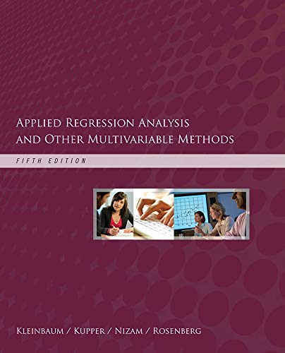 Download Applied Regression Analysis and Other Multivariable Methods 1285051084