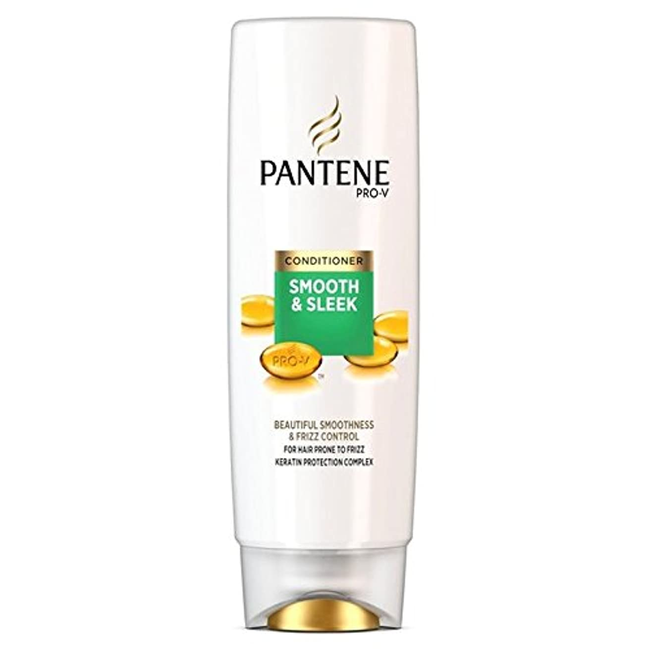 ホステルピカソ鮫パンテーンコンディショナースムーズ&縮れ250ミリリットルを受けやすい髪になめらかな x2 - Pantene Conditioner Smooth & Sleek For Hair Prone to Frizz 250ml...