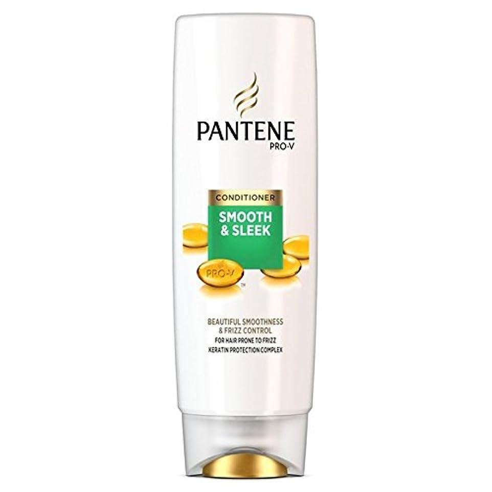 申請中死にかけている助けになるPantene Conditioner Smooth & Sleek For Hair Prone to Frizz 250ml (Pack of 6) - パンテーンコンディショナースムーズ&縮れ250ミリリットルを受...