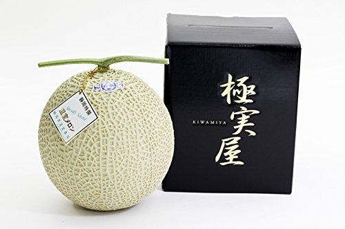 【静岡県産】温室マスクメロン ランク ☆ 極 山 ☆【1.4?1.8kg】