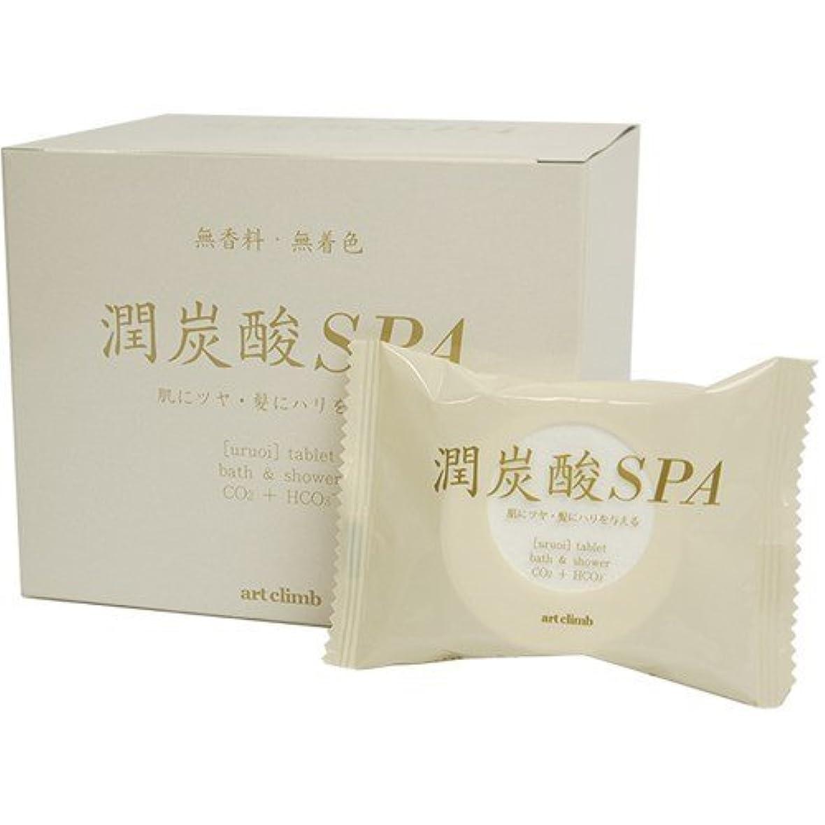 勤勉な適応する年潤炭酸SPA BS (60g 10錠入り)