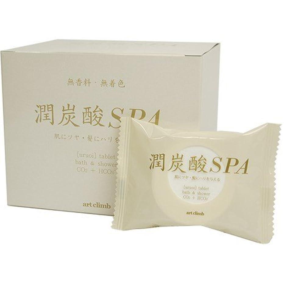 シリング困惑シルク潤炭酸SPA BS (60g 10錠入り)