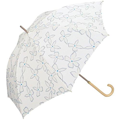 w.p.c(WPC) 【長傘】【軽くて丈夫で持ちやすい】マグノリア (雨傘/レディース)【オフホワイト/58】