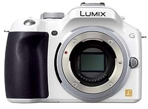 Panasonic ミラーレス一眼カメラ ルミックス G5 ボディ 1605万画素 シェルホワイト DMC-G5-W