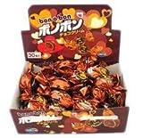 やおきん ボノボン チョコクリーム (1箱30個入り) +大和屋サービスで菓道の珍味1枚付き
