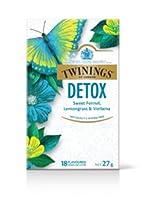 Twinings Wellnessデトックスティーバッグ18パック