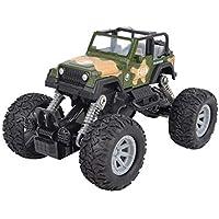 OWIKAR プルバックカー 合金ダイカストトラックレースカーバギー機能 おもちゃの車 子供の幼児のパーティーの記念品 ダイカストカー おもちゃ遊び カモフラージュ