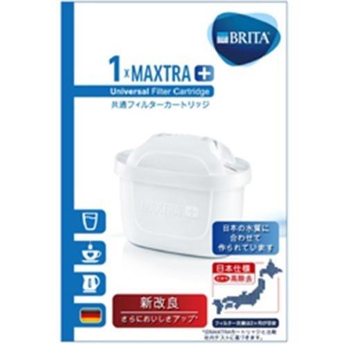 BRITA ブリタ 浄水 ポット カートリッジ マクストラ プラス 1個入り 【日本仕様・日本正規品】 【MAXTRA+】