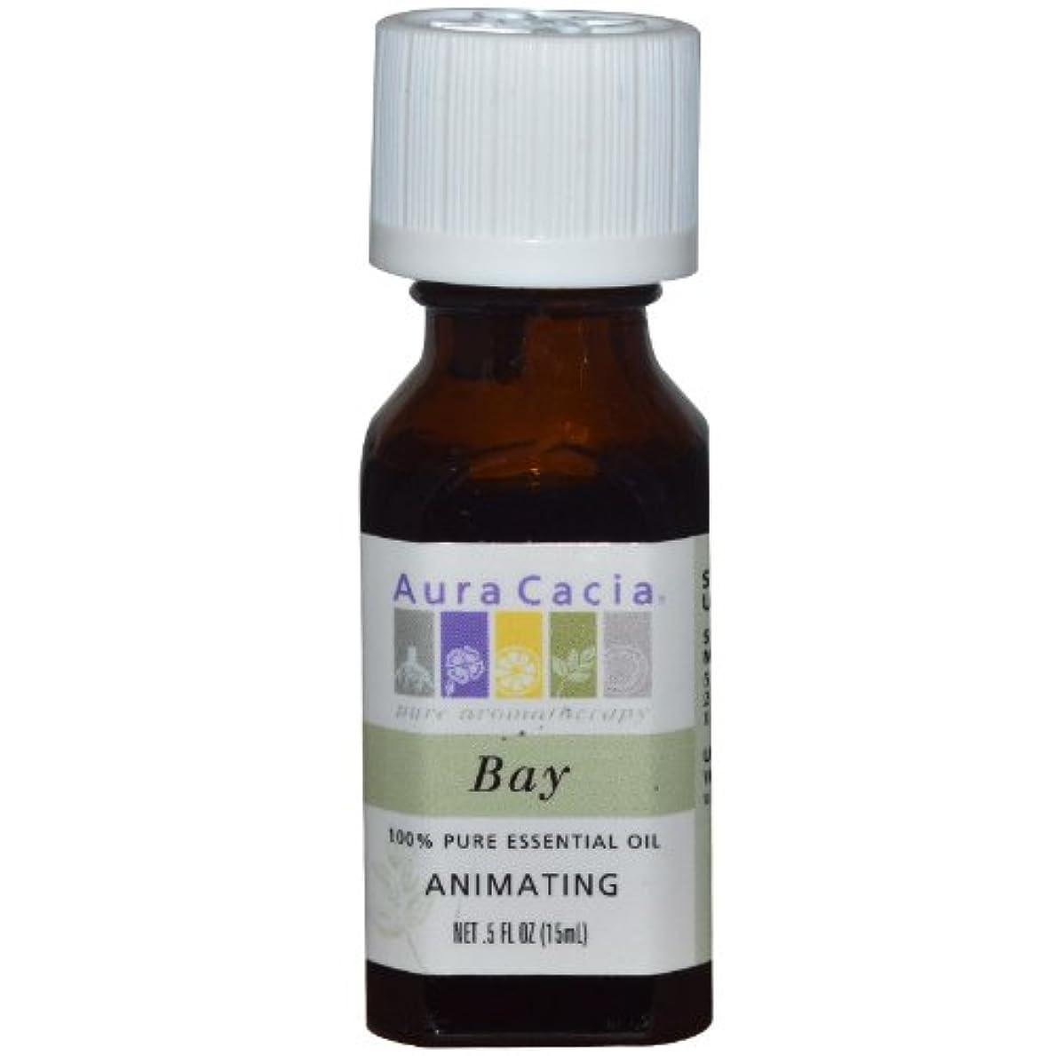 居心地の良い面白い眉海外直送品Essential Oil Bay, (pimenta racemosa) 0.5 Fl Oz by Aura Cacia