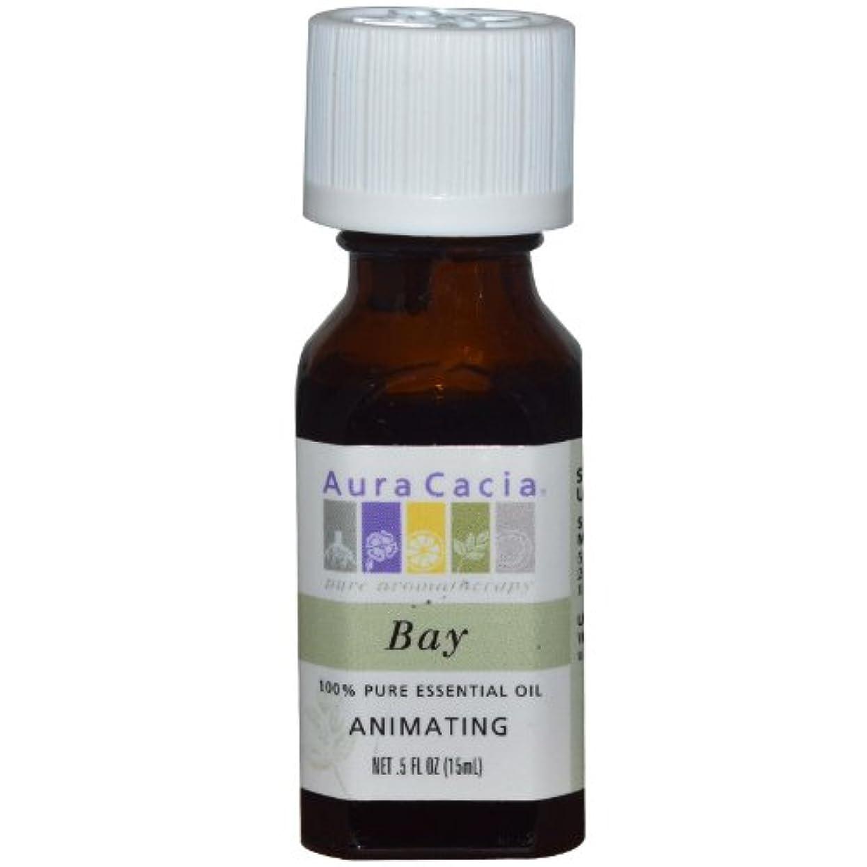 好き理想的にはプット海外直送品Essential Oil Bay, (pimenta racemosa) 0.5 Fl Oz by Aura Cacia
