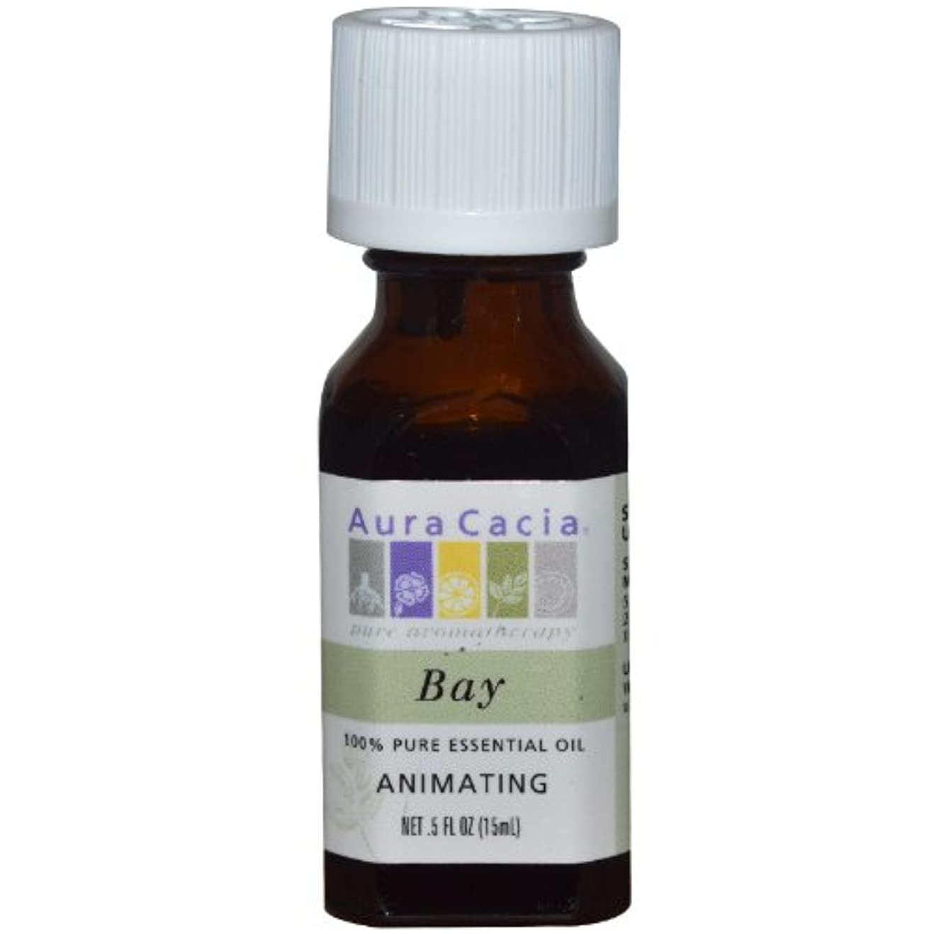 未来びっくりしたサービス海外直送品Essential Oil Bay, (pimenta racemosa) 0.5 Fl Oz by Aura Cacia