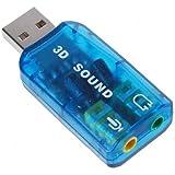 SODIAL(R) USB5.1ステレオサウンドカードアダプター(Windows 7対応)