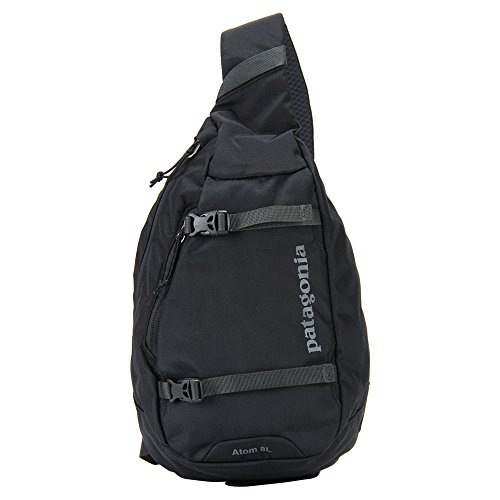 PATAGONIA パタゴニア EQUIPMENT DAY PACKS ATOM SLING アトム スリング 8L Black (BLK) 48260 [並行輸入品]