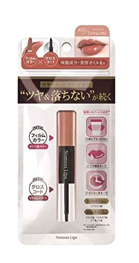 実験的定義プラスチックNoMess Lips ノーメスリップス 05 テラコッタ