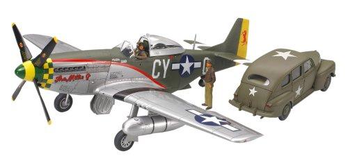 1/48 スケール限定商品 P 51D マスタング & アメリカ陸軍スタッフカーセット