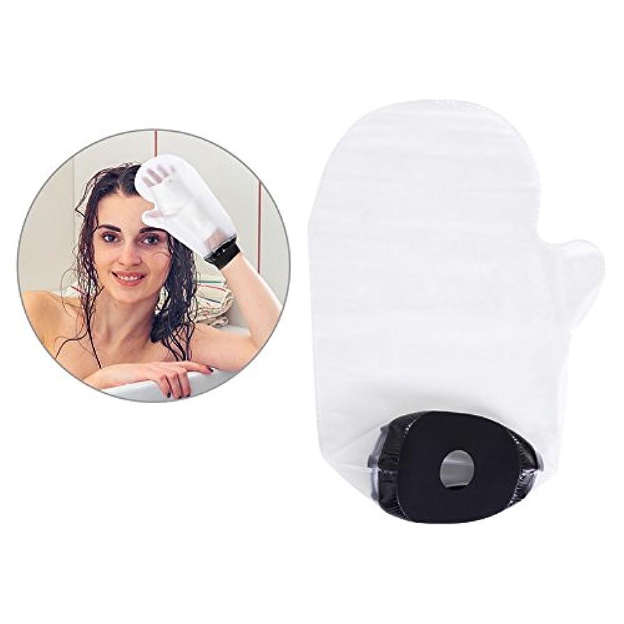 を除くぶどう悲惨防水包帯保護袋 入浴中に傷の骨折手の感染を防ぐ FDA認定あり