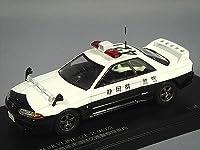 RAI'S 1/43 日産 スカイライン GT-R (R32) 1991静岡県警察高速道路交通警察隊車両 (421)