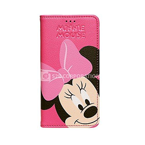 Galaxy S4 Disney Color Flip ディズニー カラー フリップ 手帳型 ケース カバー ミニー / Minnie ギャラクシー S4 (SC-04E)