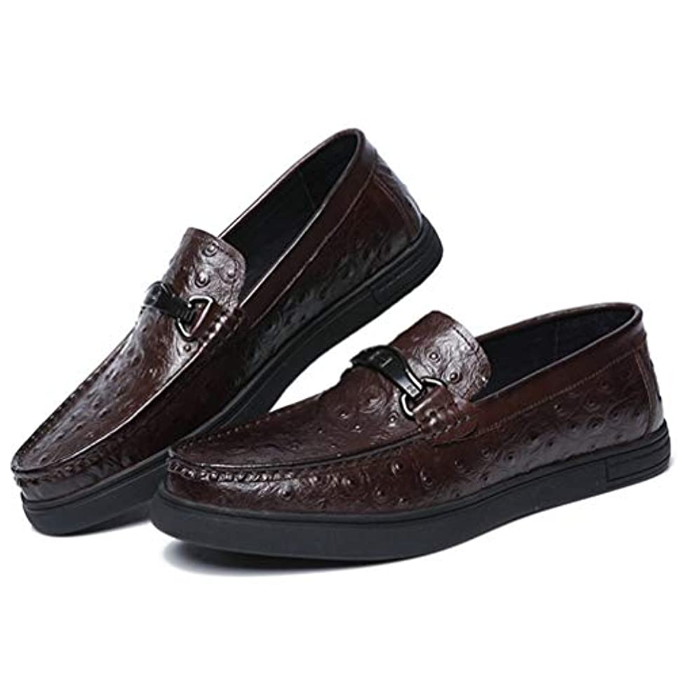 ライフル肝必要としているローファー メンズ 靴 カジュアル スリッポン ドライビングシューズ レザー ビジネスシューズ フラット ローカット モカシンシューズ メンズ ラウンドトゥ スニーカー レザー 柔軟 おしゃれ 革靴 紳士靴 [ムリョ]