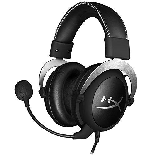 キングストン ヘッドセット HyperX CloudX HX-HSCX-SR/AS シルバー