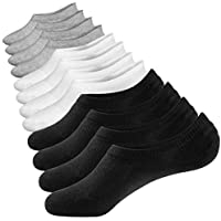 No Show Socks Summer Socks 6 Pairs Closemate Cotton Low Cut Loafer Casual Socks for Men & Women (Men Size: 4.5-11.5, Women Size: 5-12.5)