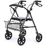 ALUA- Elderly Walker Walking Aid Chair Auxiliary Walker Armrest with Wheel Toddler