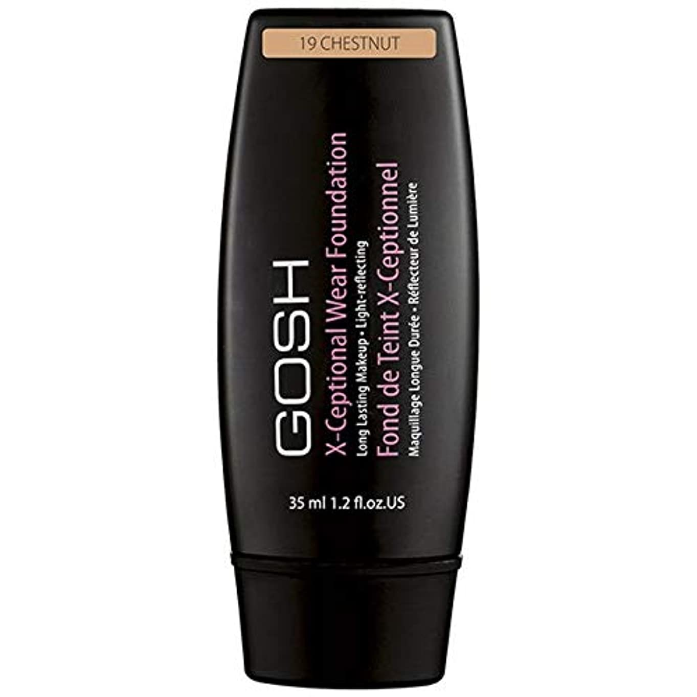 [GOSH ] おやっX-Ceptional摩耗は栗19を構成しています - Gosh X-Ceptional Wear Make Up Chestnut 19 [並行輸入品]