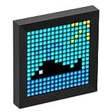 Divoom PIXOO ピクセルアートフレーム (ブラック)
