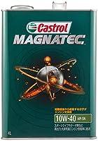 カストロール エンジンオイル MAGNATEC 10W-40 4L 4輪ガソリン車専用部分合成油 SN Castrol
