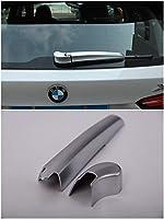 BMW・16-19セクション BMW-X1後部ワイパー装飾 BMW-X1アクセサリー おしゃれ 2点セット ABS マットシルバー