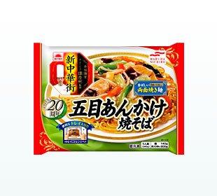 ニチロ 五目あんかけ焼きそば340gX12袋 冷凍食品