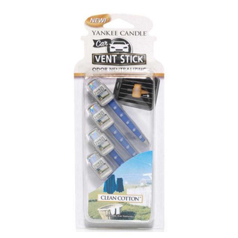 工業用展示会ビーチYankee Candle クリーンコットンスモールタンブラー7オンスキャンドル  Smart Scent Vent Clip 1194395