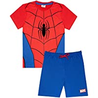 vanilla underground Marvel Spiderman Classic Costume Boy's Short Pyjamas