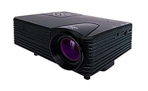 家庭用プロジェクター 最大100インチ大画面投射 HDMI端子搭載 ミニLEDプロジェクター FF-5551